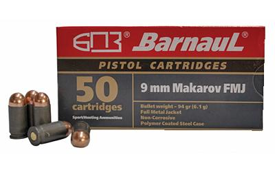 Barnaul 9mm Mkrv 94gr Fmj94 50/1000