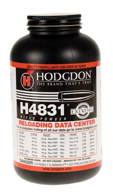 Hodgdon Powder H4831 Rifle 1 lb