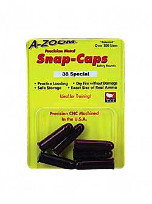 Azoom Snap Caps 38 Special 6PK