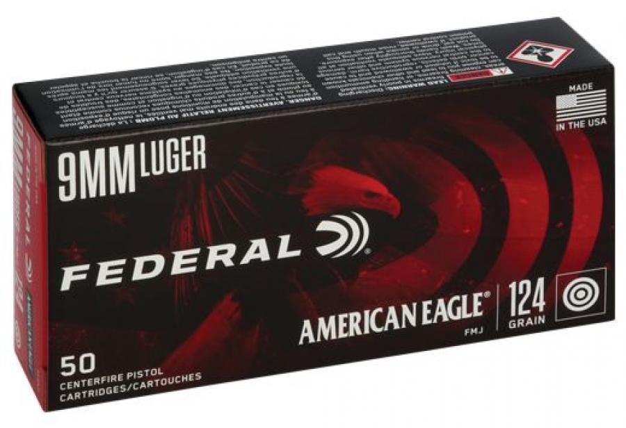 Federal Standard 9mm Full Metal Jacket