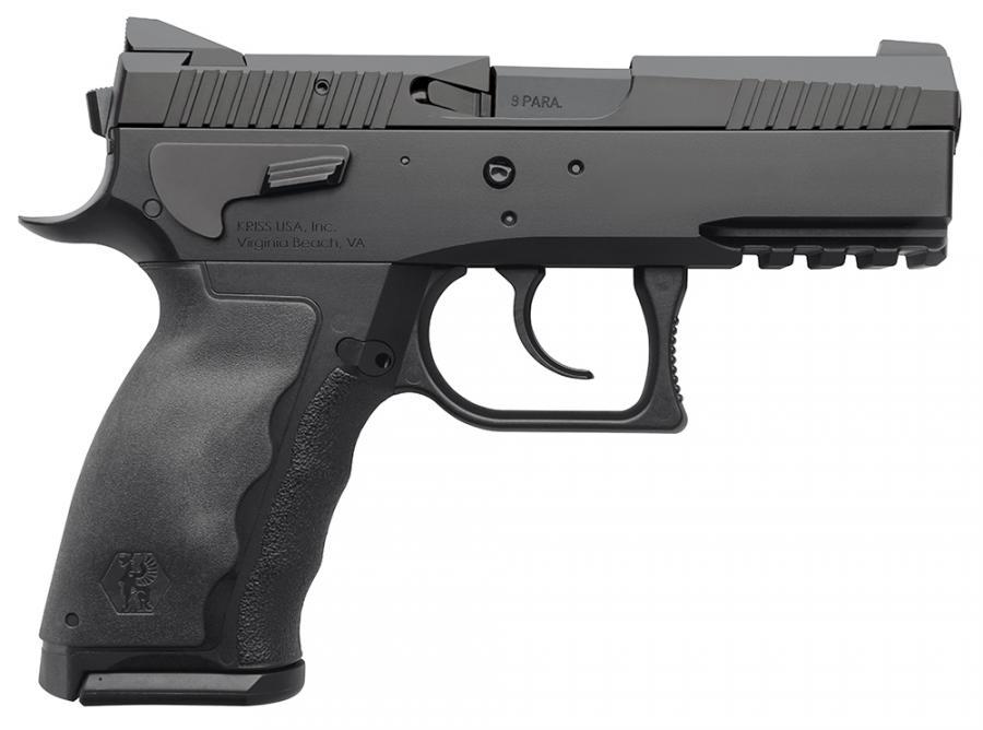 """Spx Compact Alpha 9mm 3.7"""" 15rd"""