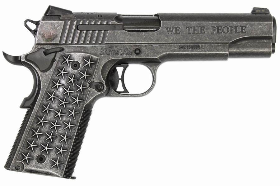 Sig 1911 We The People 45acp