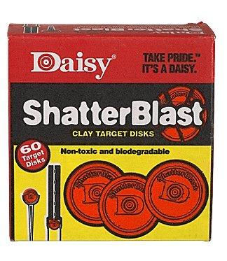 "Daisy 60 Count 2"" Shatterblast Clay"