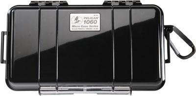 "Pelican Micro Case 8x4x2"" Watertight Clear"
