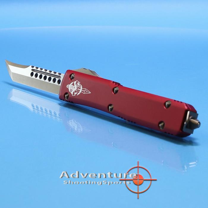 119-13rd Microtech Ultratech Hellhound RED