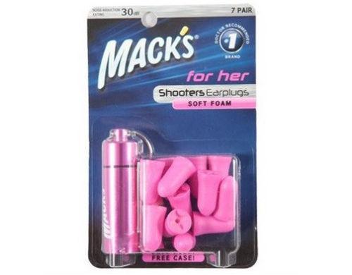 Macks Shooters Ultra Foam Earplugs Pink