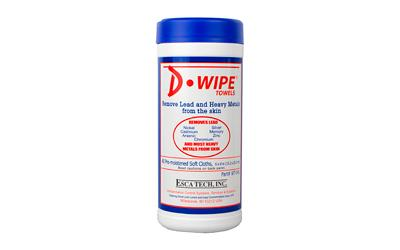 D-wipe Towels 12-40 Ct Canisters
