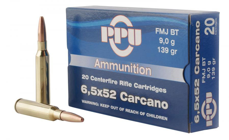 PPU Pp3006g Metric Rifle 6.5x52mm Carcano