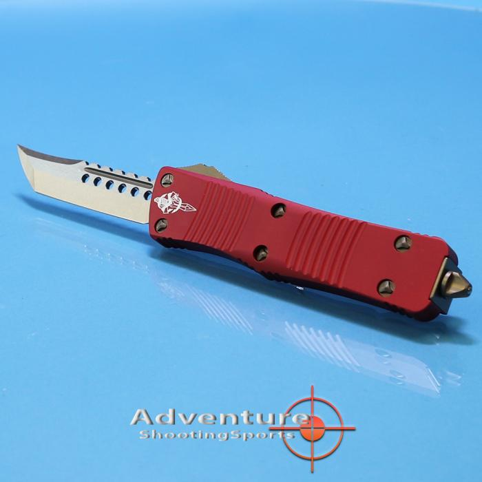 619-13rd Microtech Troodon Hellhound RED
