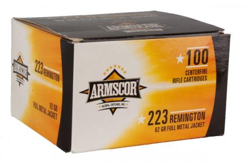 Arm Cart 223rem 62gr Fmj 100pk
