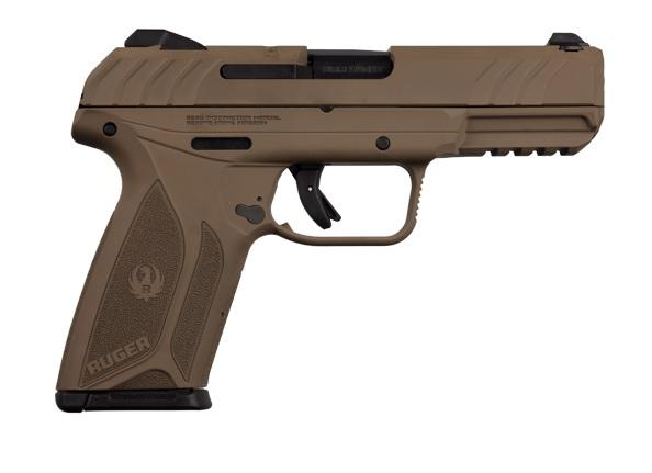 Ruger Security-9 9mm Barrett Brown