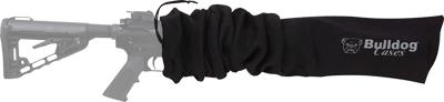 "Bulldog Gun Sock 45""x6"" Black"