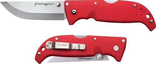 "Cold Steel Finn Wolf 3.5"" Red"