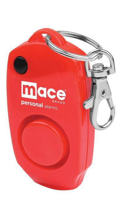 Mac Personal Alarm Keychain Red