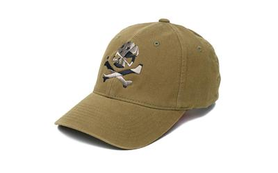 Phu Skull Flag Flex Hat Olive