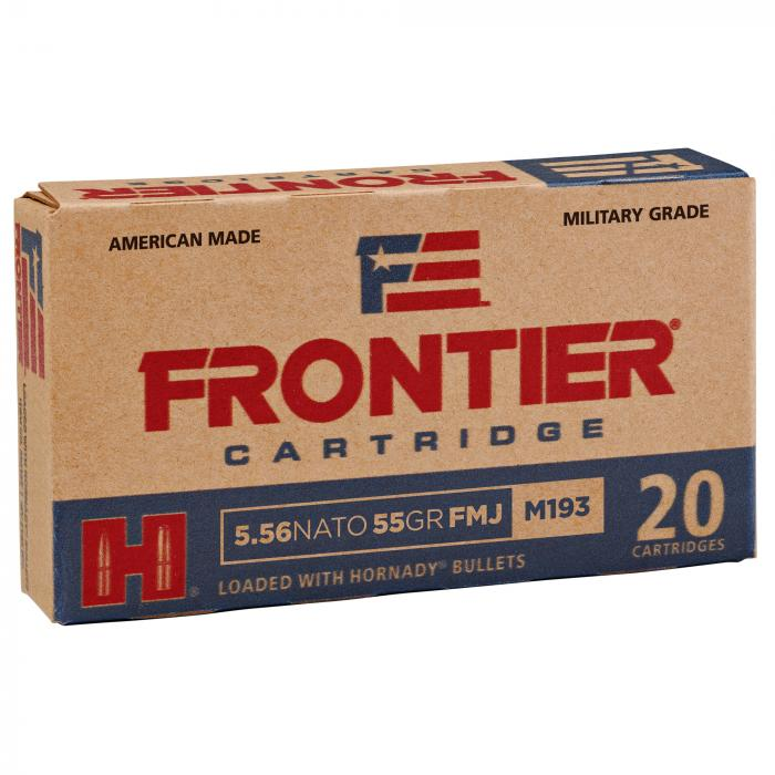 Frontier 5.56mm 55gr FMJ Lake City