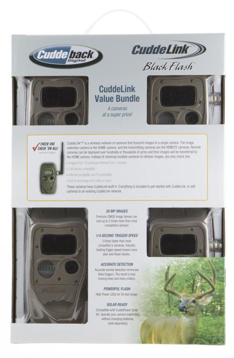 Cuddeback 11445 Cuddelink Black Flash X