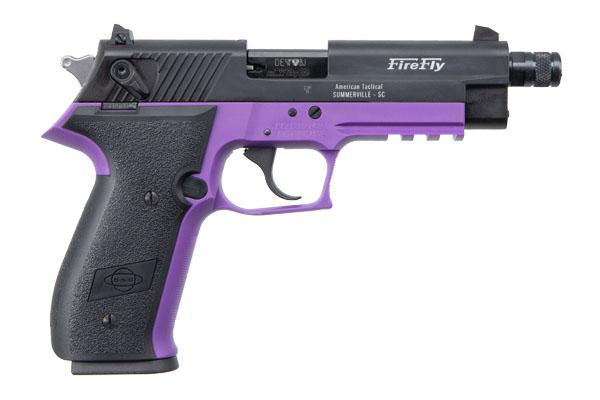 ATI Firefly .22lr Threaded BBL Purple
