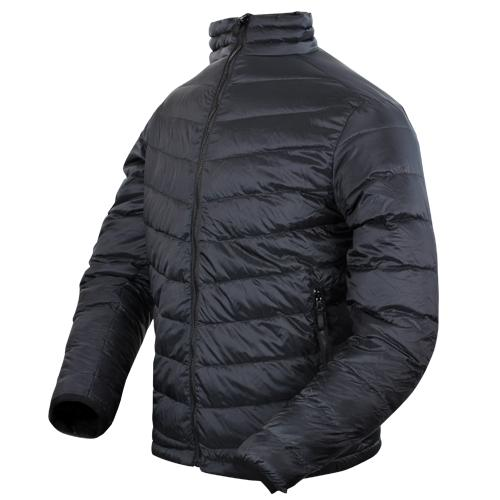 Zephyr Lightweight Down Jacket Black XXL