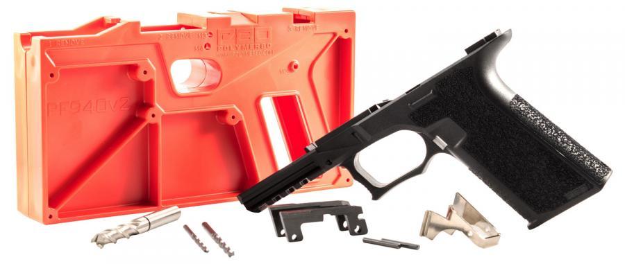 Polymer80 P80pf940v2bl G17/22 Gen3 Compatible Frame