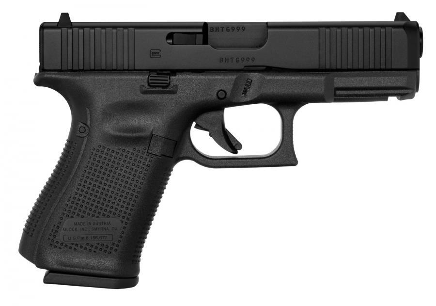 Glock 19 Gen5 9mm Gns 15rd