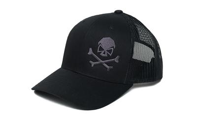 Phu Skull Trucker Hat Blk/gry