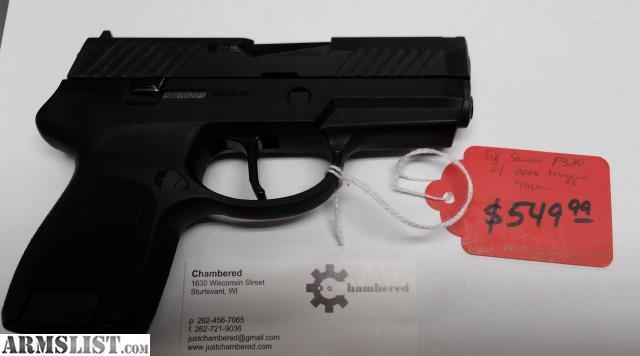 Sig Sauer P320 w/ Apex Trigger