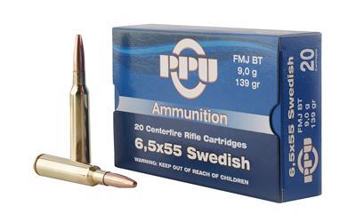 Ppu 6.5x55mm 139gr Fmj