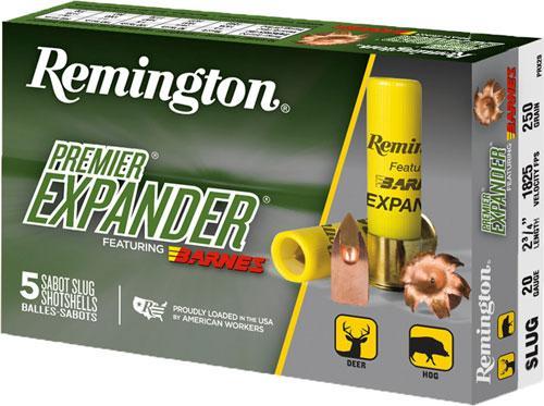 Rem Ammo Premier Slug 20ga.