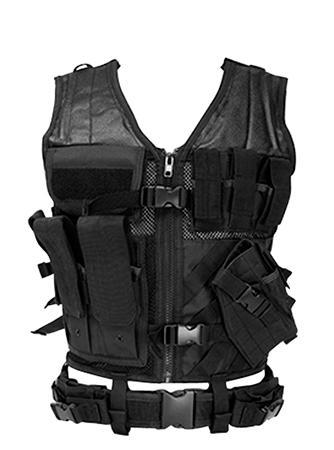 NC Ctvl2916b Tact Vest BLK Xl-xxl