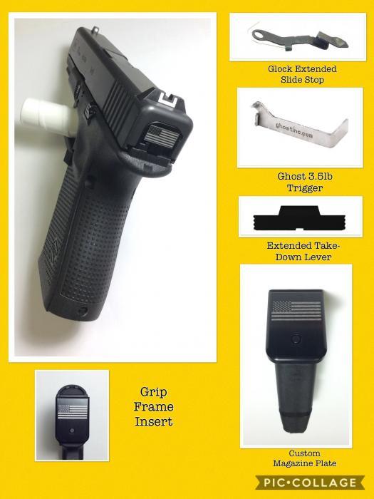 "Glock/glock Inc 19gen4 9x19 4"" Barrel"
