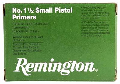 Rem Primers- Small Pistol