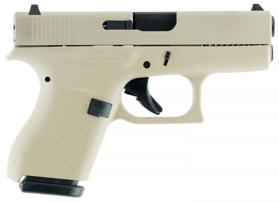 "Glock 42 380acp 3.25"" 6+1 Desert"