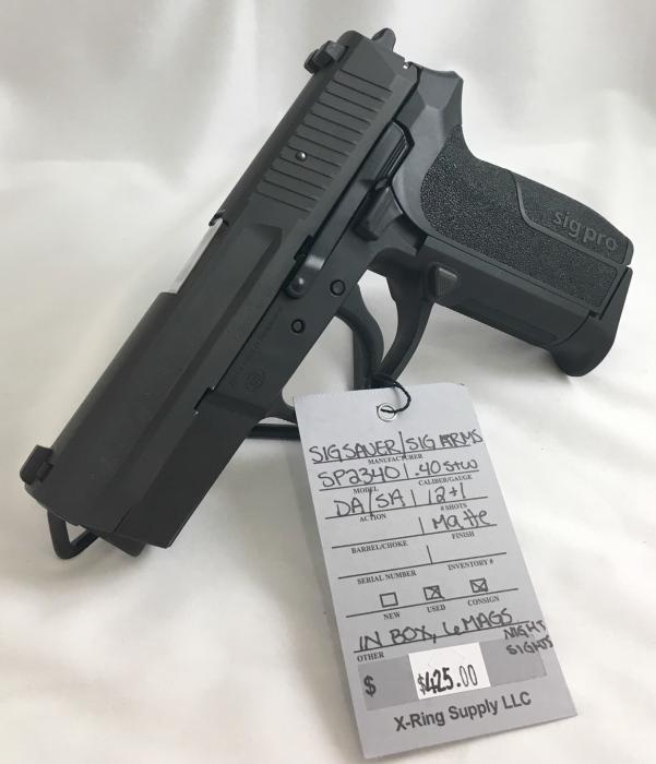SIG Sauer/ SIG Arms Sp2340 .40s&w