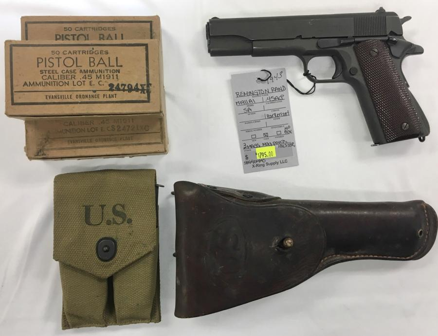 Remington Rand INC M1911 A1 US