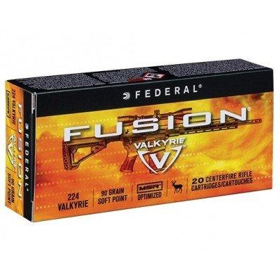 Federal 224 Valkyrie 90gr Soft Point