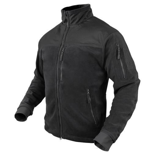 Alpha Micro Fleece Jacket Black Large