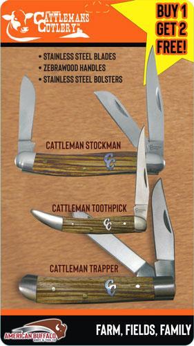 Abkt Cattlemans Cutlery 3-pack