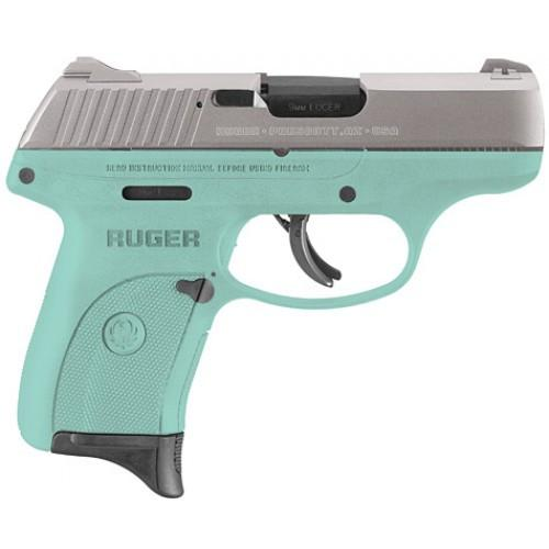 Used Ruger Lc9s Turquoise SS Slide
