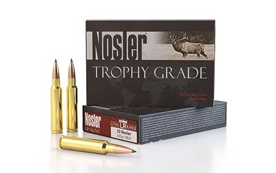 Nosler .33 Nosler 265gr Trophy Grade
