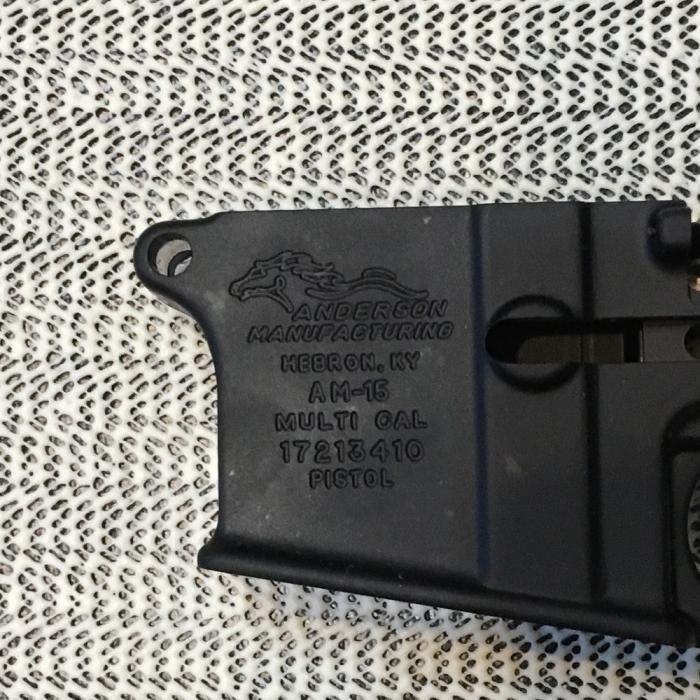 Anderson AM 15 Pistol Receiver