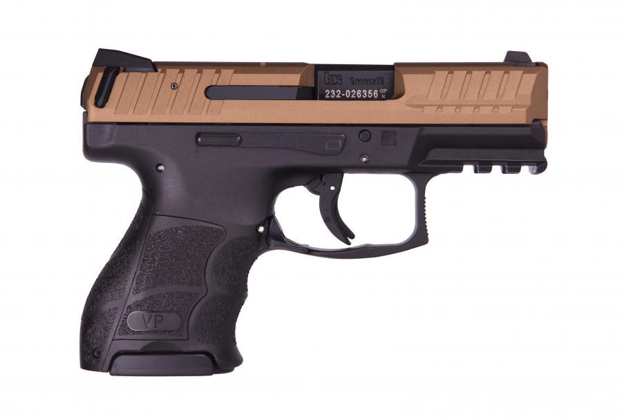 """HK Vp9sk 9mm Brnz/blk 3"""" 10+1"""