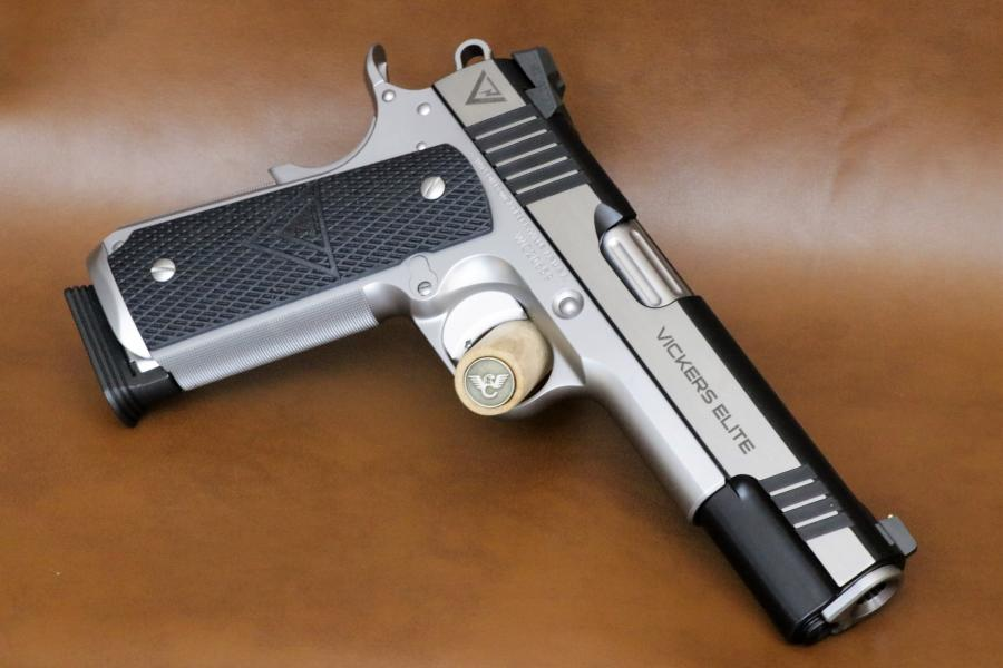 Wilson Combat Vickers Elite Stainless 9mm