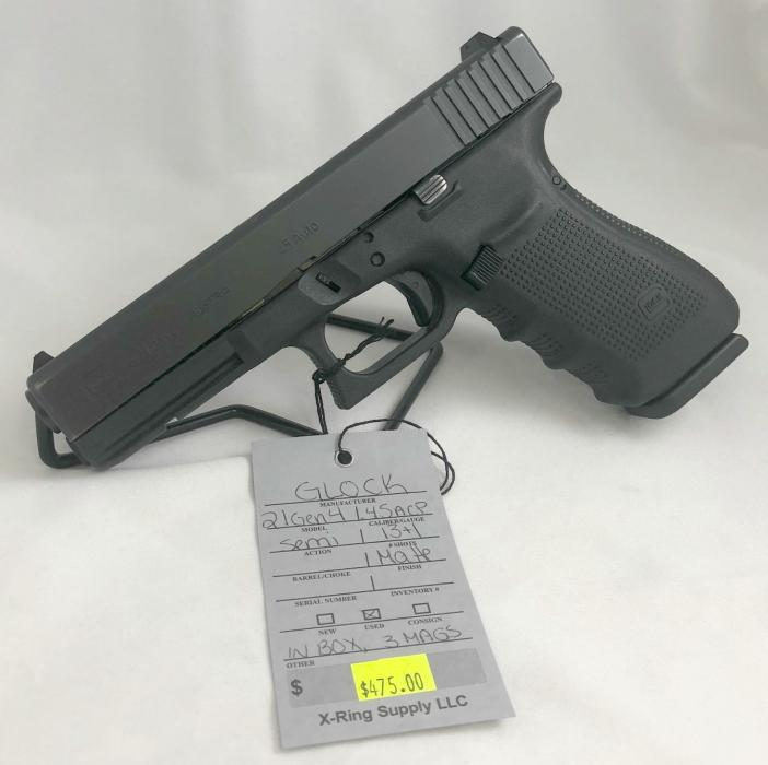 Glock 21 GEN 4 .45acp (a-4937)