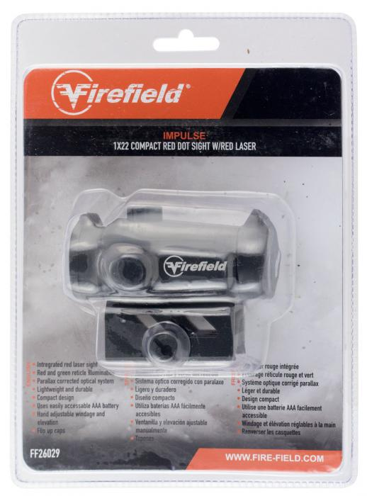 Firefield Ff26029 Impulse 1x22 RED DOT