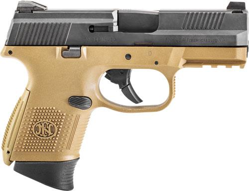 Fns-9c 9mm Fde/blk 10+1 Fs