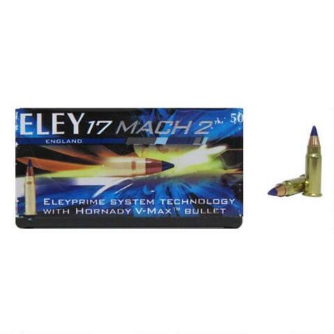 Eley 17mach 2 With Hornady V-max