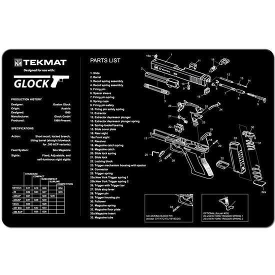Beck Tek Pistol Mat For Glock