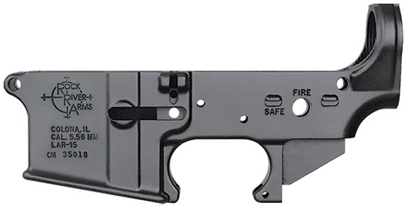 Lar-15 Stripped Forged Lower Receiver