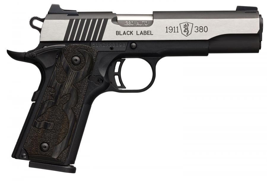 Browning 051935492 1911-380 Black Label Medallion